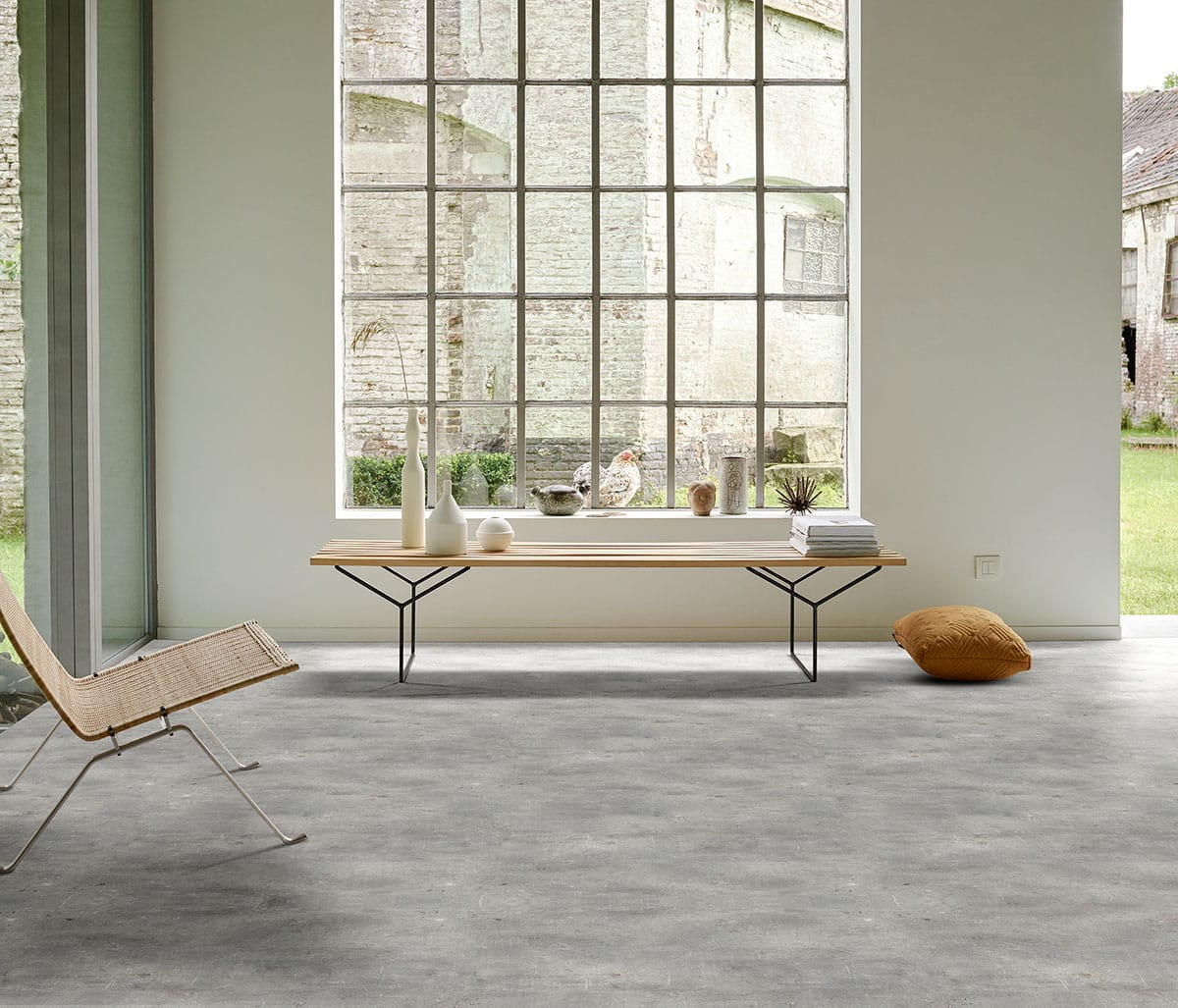 Interfloor Dynamic-Concrete vinyl 749